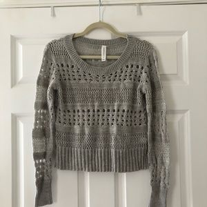 Gray Aeropostale Sweater Size Small